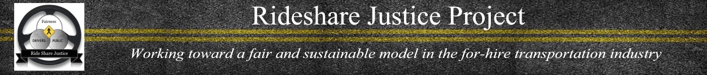 Rideshare Justice Project, Fair And Safe Transportation For All