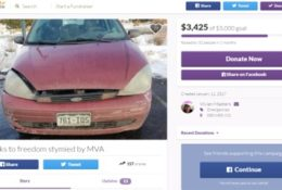 Lyft driver, disabled and totaled car. Needs help.